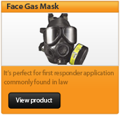 face gas mask
